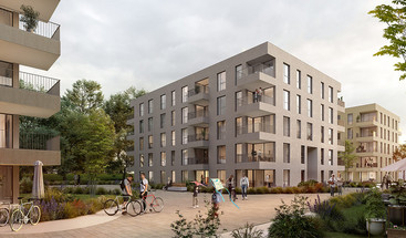 Projektvisualisierung west.side, Bonn | Instone Real Estate